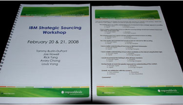Sourcing Workbook